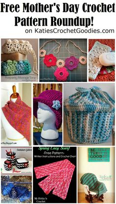 Katie's Crochet Goodies and Crafts: Easy Mother's Day Crafts & Free Mother's Day Crochet Patterns