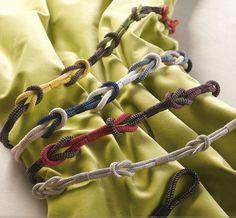 Boucles d'embrasses Izi, mixez les couleurs et personnalisez vos rideaux www.accord-decoration.com