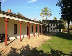 Historic Houses of California - Los Angeles - Los Encinos State Historic Park - Rancho Los Encinos (1845)