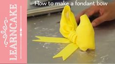 Make a fondant bow with Handi Mulyana and Learn Cake Decorating Online