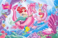 Underwater riding with Ariel