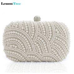 $19.82 (Buy here: https://alitems.com/g/1e8d114494ebda23ff8b16525dc3e8/?i=5&ulp=https%3A%2F%2Fwww.aliexpress.com%2Fitem%2F2016-Quality-Assurance-Women-s-Pearl-Evening-Bags-Craft-Pearl-Beads-Clutch-Bag-Purse-Wedding-Bags%2F32614184160.html ) 2016 Quality Assurance Women's Pearl Evening Bags Craft Pearl Beads Clutch Bag Purse Wedding Bags with Shoulder Chain 3color for just $19.82