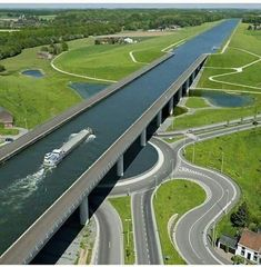 Water bridge Belgium. did you ever get a chance to travel over it? you must be a lucky one if so.
