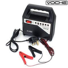 Marko Auto Accessories 8AMP 6V//12V Heavy Duty Vehicle Battery Charger Car Van Compact Portable Electric