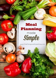 Hate meal planning? This post is for you! Don't miss these helpful tips and tricks for making meal planning simple.