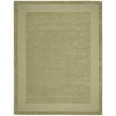 Westport Wool Green Rug (3'6 x 5'6)