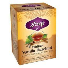 Yogi Tea Tahitian Vanilla Hazelnut - Caffeine Free - 16 Tea Bags