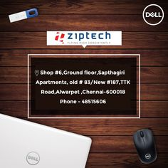 Best-in-Class - Superior Design & Powerful Performance - Dell Laptop @ Ziptech Flexi EMI Options from leading Finance Companies visit our Alwarpet showroom