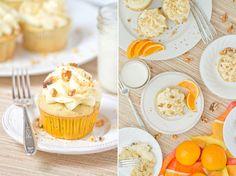 White Spice Walnut Orange Cupcakes Recipe on Yummly