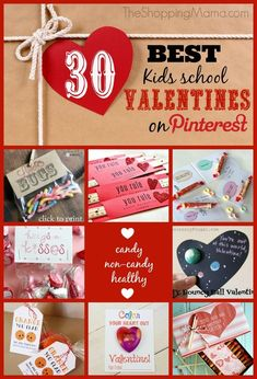 The best Valentine's Day ideas on Pinterest. Creative and fun Valentine's for kids.