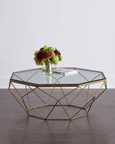 Mystique Glass-Top Coffee Table