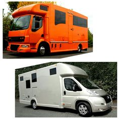 Nine days into 2017 and these two colours are proving more popular than ever for new orders! #KPHLTD #HorseHour #Equihour #EquineHour #horseboxes #horse