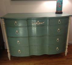 Vintage English Mahogany Dresser by UpcyDaisy on Etsy, $495.00