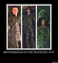 Lololol, Team Arrow!