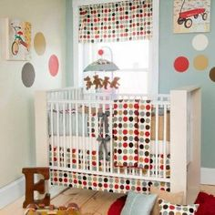 9a87f9906c Cooper 5 Piece Baby Crib Bedding Set with Dot Pillow by Glenna Jean Kit  Berço