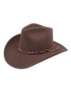3dca1181e1d Eddy Brothers Buckhorn - Wool Cowboy Hat