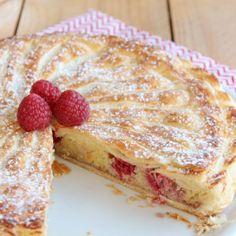 Galette crème d'amandes framboises (3)