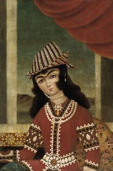 qajar portraits - Google Search