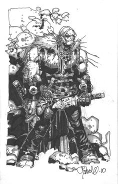 Sabretooth, by Chris Bachalo