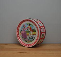 Vintage Quality Street tin by LostPropertyVintage, £12.00