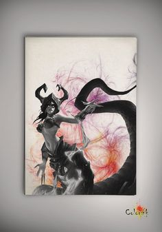 League of Legends LoL Cassiopeia Watercolor illustrations Print Wall Art Poster Giclee Wall Decor Wall Hanging Modern Geek Multi Size n569 on Etsy, 33,91zł