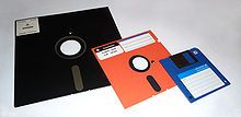 """My what an awfully big floppy disk you have... Yes, I was using computers during the 5 1/4"""" Floppy days.  Fun Fact: It would take 46,603 single sided 5 1/4"""" floppy disks to hold the same amount of data as your 16GB Smartphone!"""