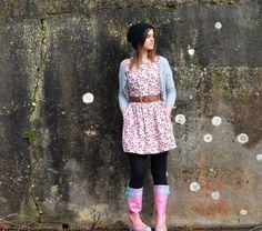 #JackWills Floral Mablethorpe dress #GREENSHOOTS