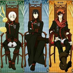 Allen, Kanda and Lavi Anime Guys, Manga Anime, Anime Art, Man Character, Character Design, D Gray Man Allen, Lenalee Lee, Black Order, Allen Walker