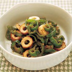 ピーマンとちくわのゆずマヨ炒め   小林まさみさんのおつまみの料理レシピ   プロの簡単料理レシピはレタスクラブネット