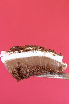 Gluten-Free Vegan Mississippi Mud Pie