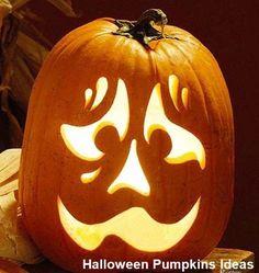 39 Chic Scary Pumpkin Carving Ideas For Halloween In This Year - Kürbisse schnitzen - Scary Pumpkin Carving, Halloween Pumpkin Carving Stencils, Halloween Pumpkin Designs, Pumpkin Carving Templates, Halloween Pumpkins, Halloween Halloween, Creepy Pumpkin, Halloween Icons, Halloween Labels
