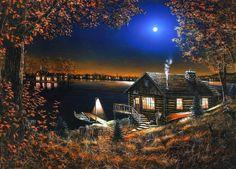 Jim Hansel - Lake cabin