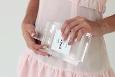 DIY perfume bottle clutch