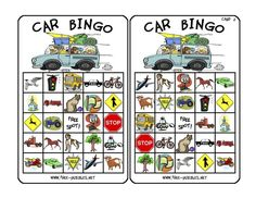 Free printable car bingo! So great for road trips with kids
