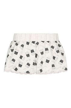 Pantaloncini Pigiama Beige