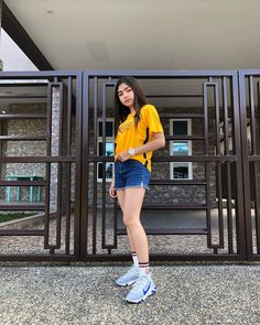 Image may contain: 1 person, standing, shoes, child and outdoor Home Studio Photography, Girl Photography, Bad Girl Aesthetic, Aesthetic Clothes, Filipina Girls, Girl Outfits, Fashion Outfits, Women's Fashion, Uzzlang Girl