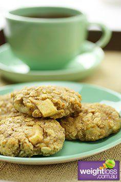 Banana,+Apple+&+Oat+Cookies.+#HealthyRecipes+#DietRecipes+#WeightLossRecipes+weightloss.com.au
