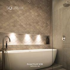 Bathroom Inspiration, Wall Tiles, Cloud, Personality, Scale, Bathtub, Elegant, Collection, Decor