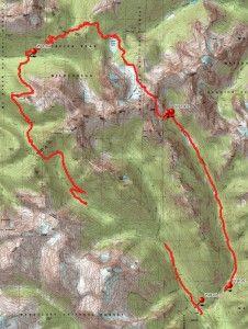 Western WA 4-5 day backpack trip. Spider Gap Loop