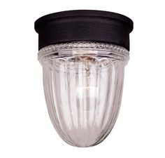 Savoy Exterior Collections Jelly Jar Flush Mount