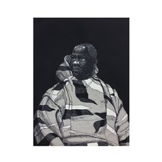 Kerry James Marshall: Untitled (Handsome Young Man), 2010 limited edition of 50 print. Featuring the artist's graphic style, this dramatic work is available for purchase at The Met Store.