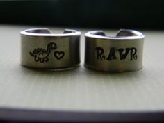 RAWR means I love you in dinosaur  BFF by LindaMunequita on Etsy, $22.00