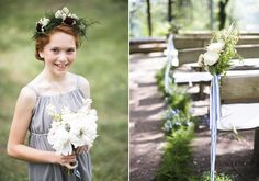 Camping themed wedding | Photo by Jaclyn Simpson Photography | Read more - http://www.100layercake.com/blog/?p=77418