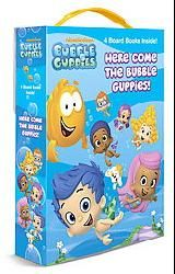 @Overstock.com - Nickelodeon`s Bubble Guppies are ready to play! Boys and girls ages 1?4 can join them with this sturdy boxed set of four board books that includes a handle for fin-tastic silliness on the go.http://www.overstock.com/Books-Movies-Music-Games/Here-Come-the-Bubble-Guppies-Friendship-Box-Board/7496113/product.html?CID=214117 $9.37