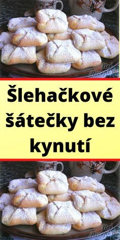 Asian Recipes, Sweet Recipes, Czech Recipes, Mini Cheesecakes, Cas, Bread Recipes, Bakery, Food And Drink, Sweets