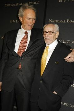 Clint Eastwood and Eli Wallach (1915-2014).