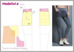 moldes de calças legging com mini saia para academia