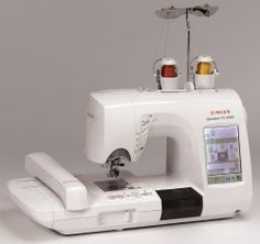 I love my Singer XL-6000 sewing and embroidery machine!
