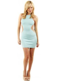 Optical Illusion Dress Aqua Body Con Dress Shop Party Dresses