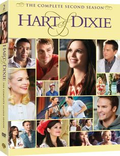 Hart of Dixie - VERY Revised Package Art for 'The Complete 2nd Season' on DVD